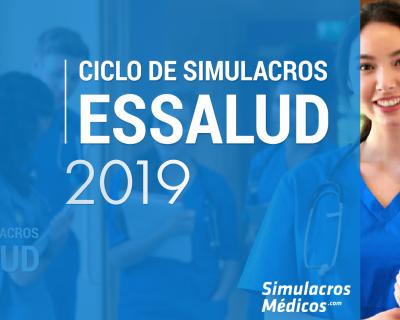 Ciclo de Simulacros – EsSalud 2019