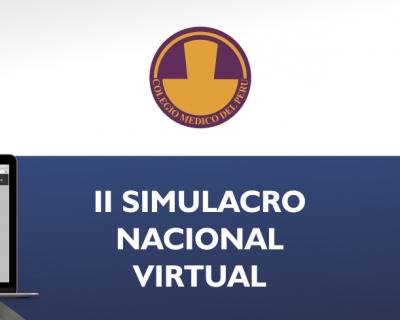 Simulacro Nacional Virtual (SINAVI) de Residentado Médico 2019